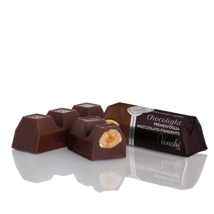 Prendivoglia Dark Chocolate with Hazelnuts from Piedmont No Sugar Added (4580096770180)