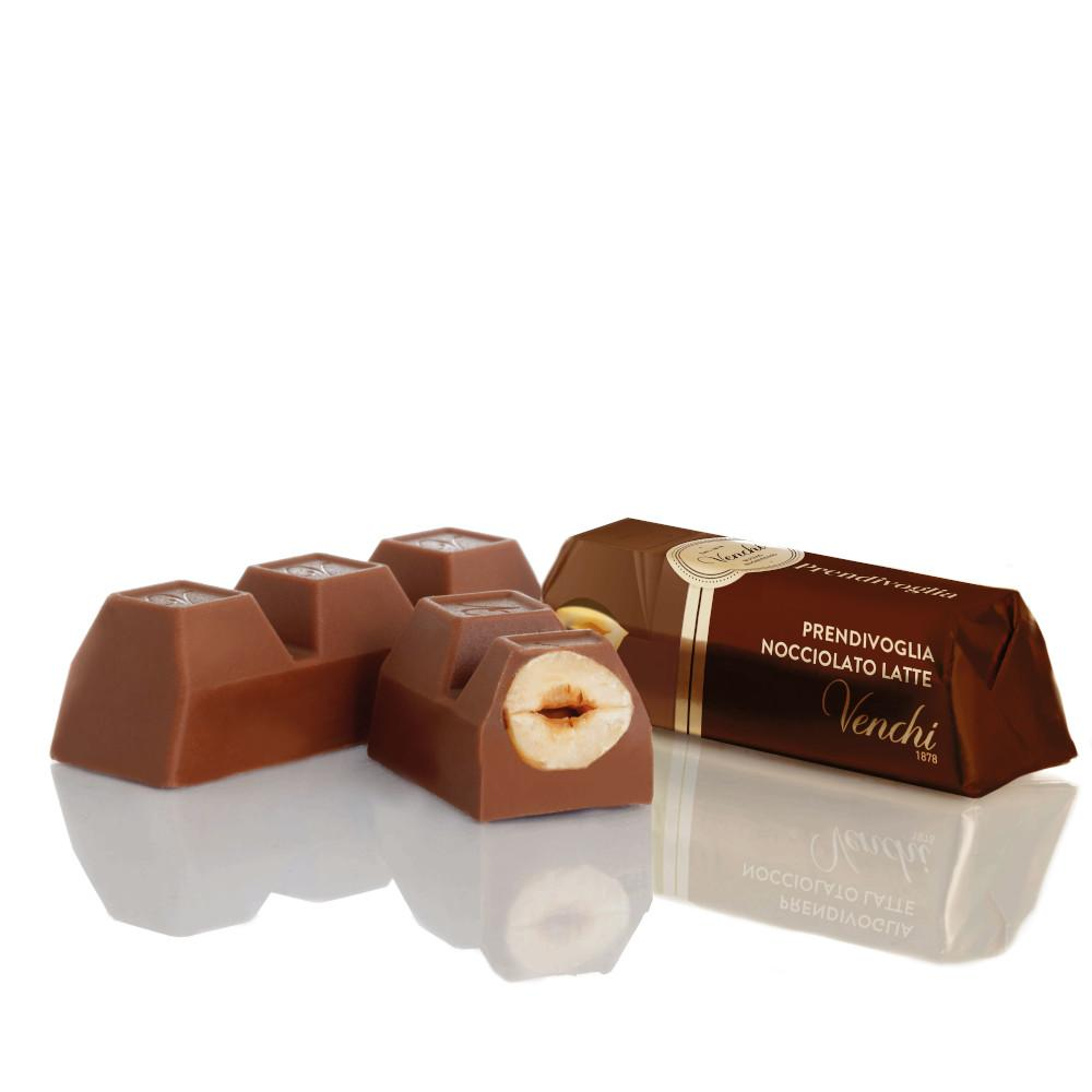 Prendivoglia Milk Chocolate with Hazelnuts from Piedmont