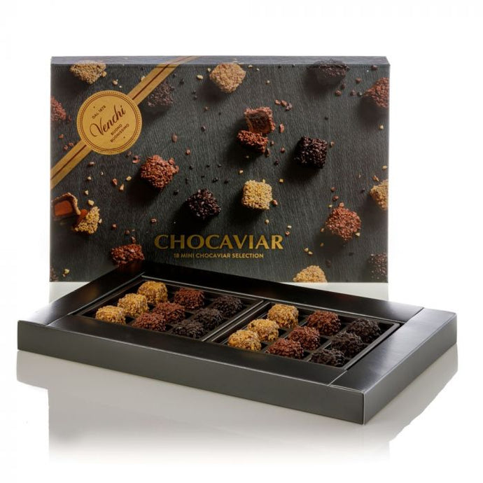 venchi-chocolate-Assorted-Chocaviar-Mini-Chocolates-In-A-G-Gift-Box