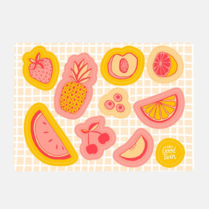 Fruit Sticker Sheet