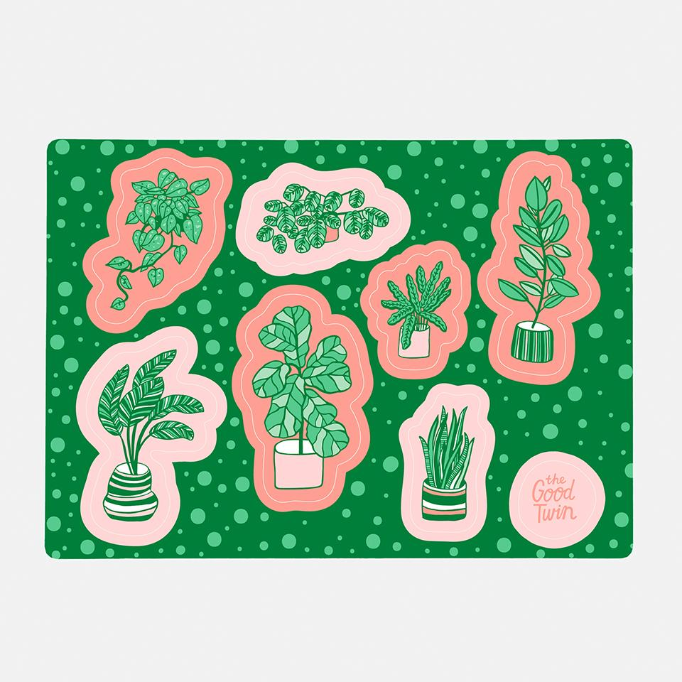Plants Sticker Sheet