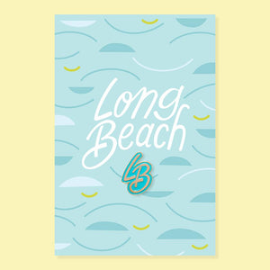Long Beach Pin