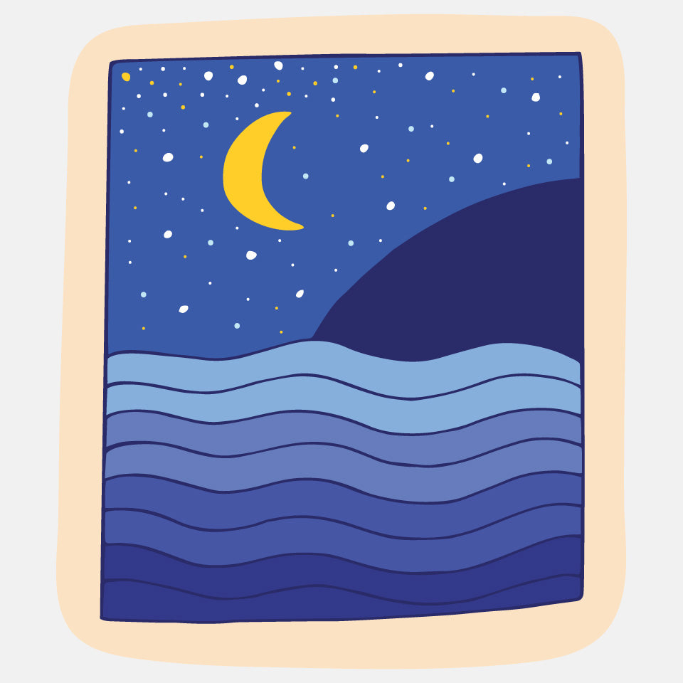 Night Sky Sticker