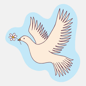 Dove Sticker