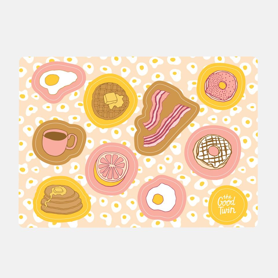 Breakfast Sticker Sheet