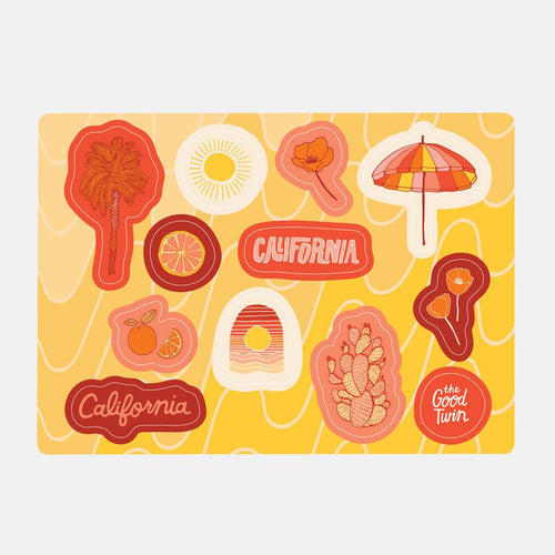 Cali Sticker Sheet
