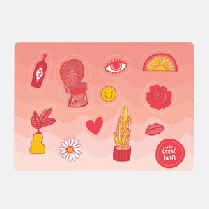 Classics Sticker Sheet