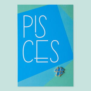 Pisces Pin+Post