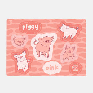 Pigs Sticker Sheet