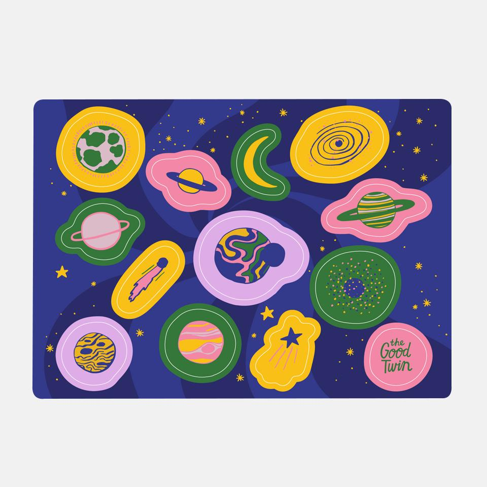 Space Sticker Sheet