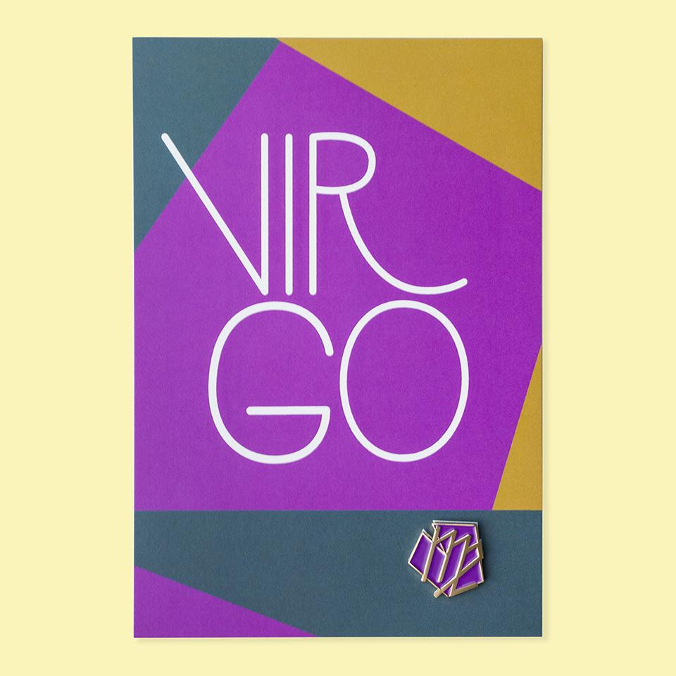 Virgo Pin+Post