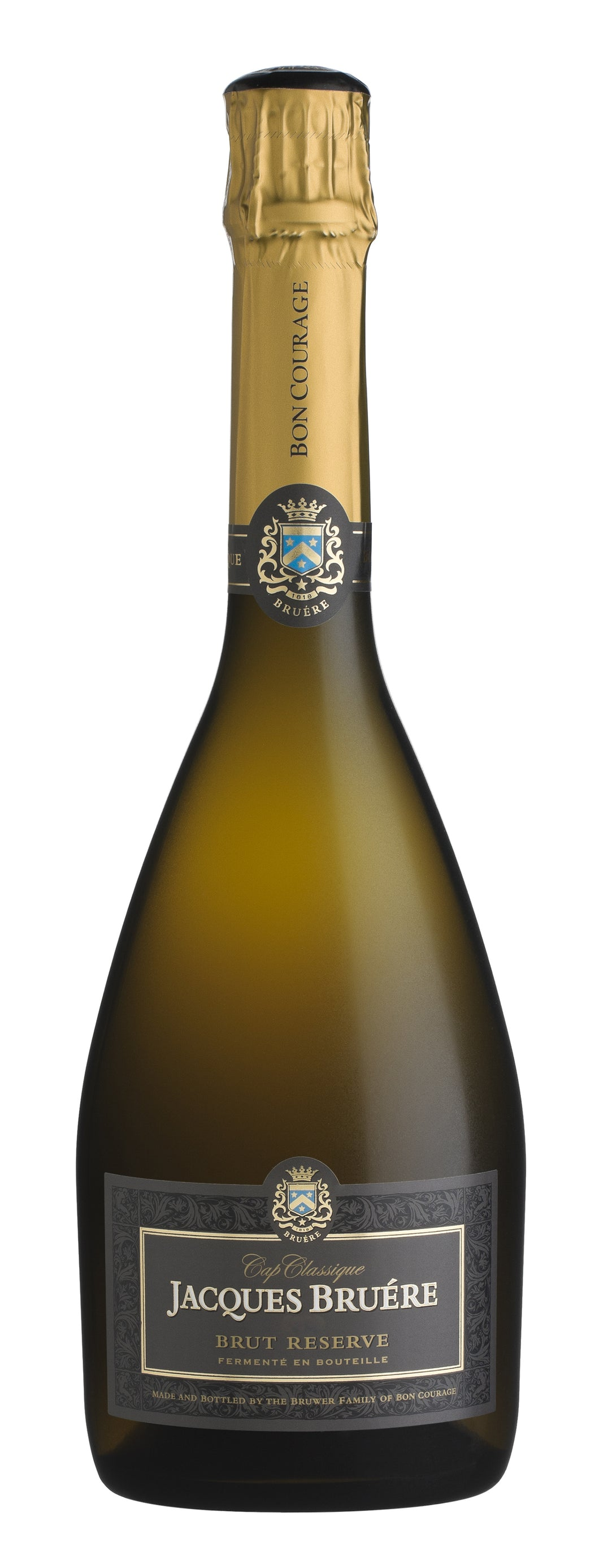 Bon Courage Jacques Bruére Brut Reserve 2012 (SOON TO BE LAUNCHED)