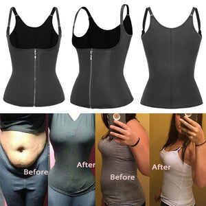 Body Shapes Neoprene Sauna Sweat Vest Waist Trainer Slimming Trimmer Fitness Corset Workout Thermo Modelling Strap Shapewear
