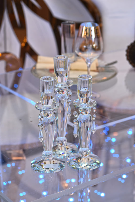 RiOr Crystal Candle Holders #1