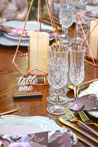 RiOr Perspex Table Number