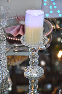 RiOr 3 Ball Crystal Candle Stand