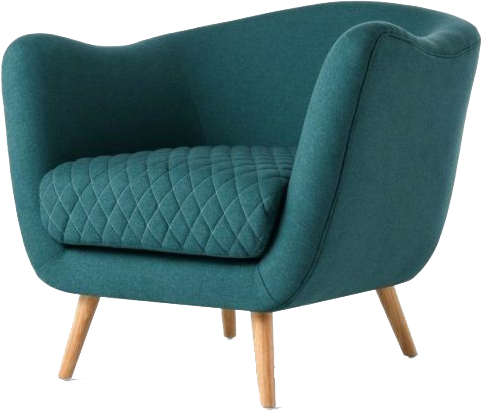 RiOr Stylish Arm Tub Chair #1