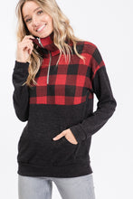 Load image into Gallery viewer, PLAID SWEATER