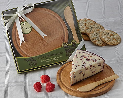La Fromagerie' Cheese Board & Spreader Favor - ArtisanoDesigns