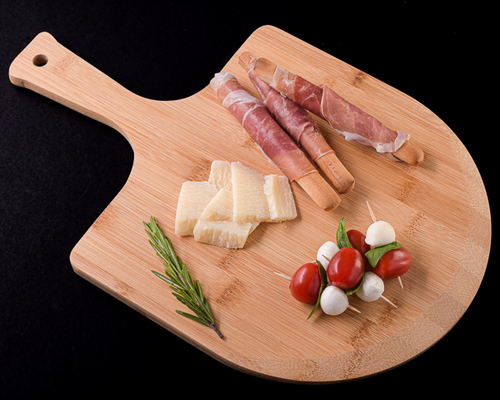 Gourmet Pizza Peel and Charcuterie Board - ArtisanoDesigns