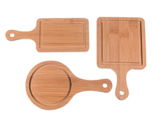 Load image into Gallery viewer, Tasteful Tapas Mini Appetizer Boards (Set of 3) - ArtisanoDesigns