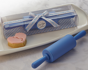 Something Blue' Rolling Pin Favor