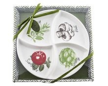 "Load image into Gallery viewer, ""Four Seasons"" Serving / Dipping Platter - ArtisanoDesigns"