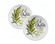 Load image into Gallery viewer, EV Olive Oil Dipping Dishes Gift (Set of 2) - ArtisanoDesigns
