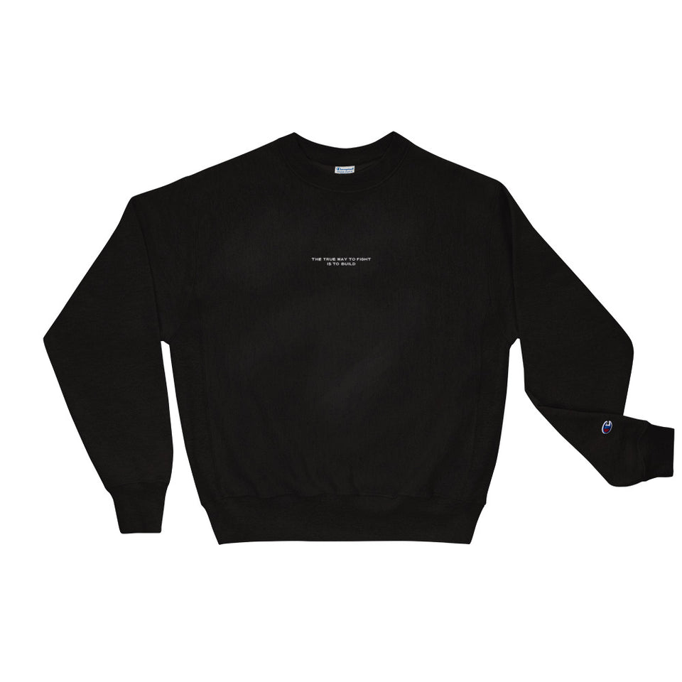Champions Build to Fight Crewneck