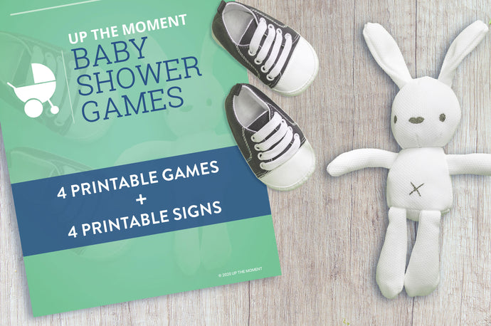 13 Baby Shower Games with Free Printables