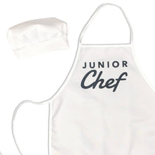 Load image into Gallery viewer, Junior Chef Kids Apron & Chef Hat