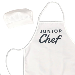 Junior Chef Kids Apron & Chef Hat