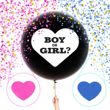 Load image into Gallery viewer, Baby Gender Reveal Party : Giant 36 Inch Balloon Reveal Kit