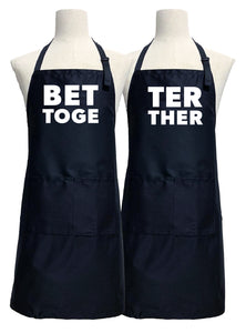 Better Together Couples Apron