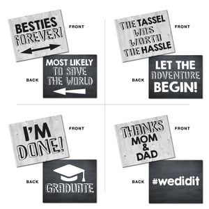 Graduation Photo Booth Prop Signs