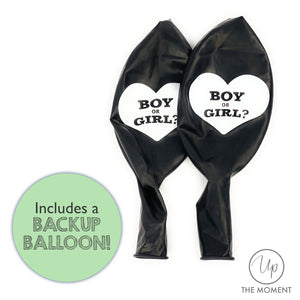 Baby Gender Reveal Party : Giant 36 Inch Balloon Reveal Kit