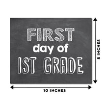 Load image into Gallery viewer, First Day & Last Day of School Grade Signs for Pictures