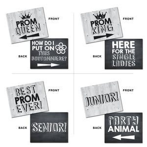 Prom Photo Booth Prop Signs