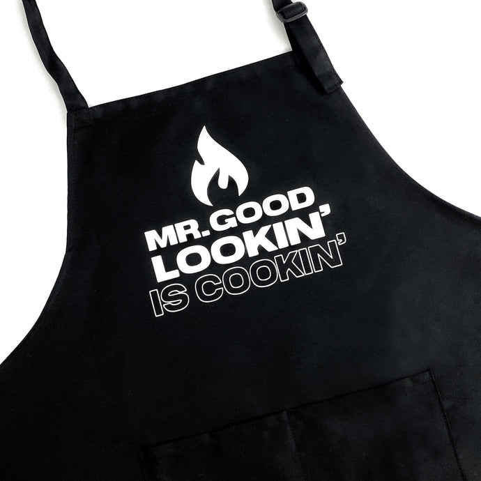 Mr. Good Lookin' is Cookin' Apron