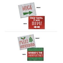 Load image into Gallery viewer, Christmas Photo Booth Prop Signs