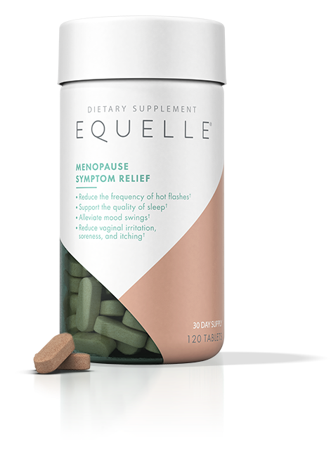 EQUELLE® Menopause Symptom Relief Tablets