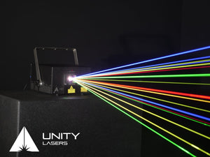 Unity ELITE 3 ILDA full-colour RGB laser beams_1