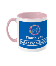 Lataa kuva Galleria-katseluun, Floral NHS Thank You Mug - The Collective Wolf