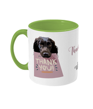 Load image into Gallery viewer, Thank You Spaniel Mug - The Collective Wolf