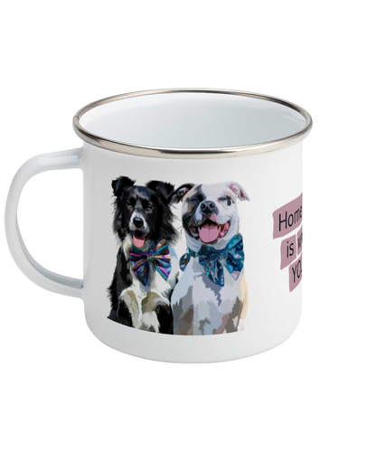 Quoted Enamel Mug (Personalise Me)