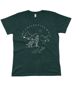 Moongazer T-Shirt (Multiple Colours) Ladies - The Collective Wolf