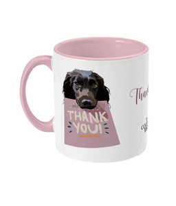 Thank You Spaniel Mug - The Collective Wolf