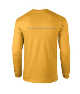 Mustard Berry Pumpkin Long Sleeved Tee (Personalise Me)