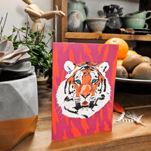 Charger l'image dans la galerie, Tiki Tiger Blank Greeting Cards - The Collective Wolf