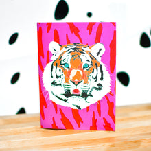 Load image into Gallery viewer, Tiki Tiger Blank Greeting Cards